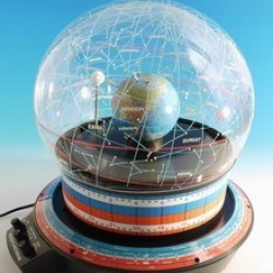 Helios Planetarium - Northern Hemisphere, Earth-centred Model, Orrery and Star Dome