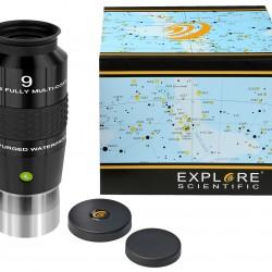 """Explore Scientific 100° Ar Eyepiece 9mm (2"""")"""