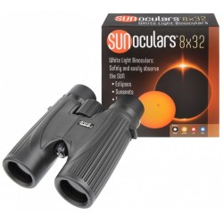 Lunt 8x32 White-Light SUNoculars (Black)