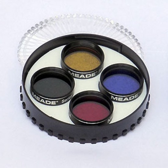 """Meade Series 4000 1.25"""" Planetary Filter Set #1"""