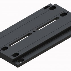 """Baader 3"""" Telescope Mounting Dovetail Plate - Losmandy Style Dovetail Bar, 190mm Long"""