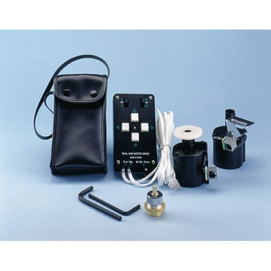 SkyWatcher Dual-Axis Motor Drive for EQ3-2 w Multi-Speed Handset