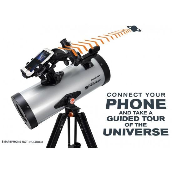 Celestron StarSense Explorer LT 127AZ Smartphone App-Enabled Newtonian Reflector Telescope