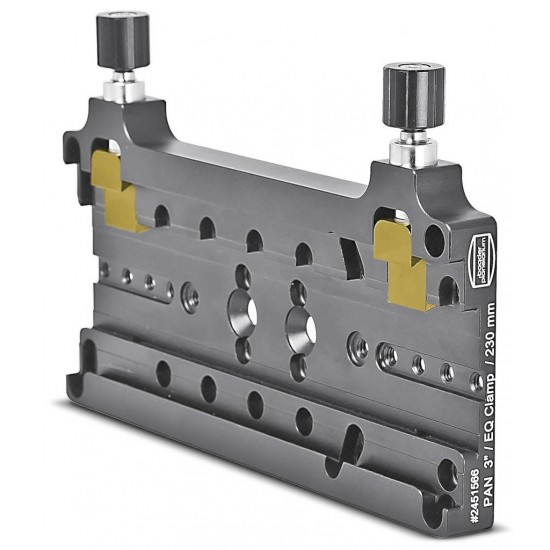"""Baader Pan 3"""" Dovetail Dual Clamp 230mm length (for Losmandy and Vixen-standard)"""