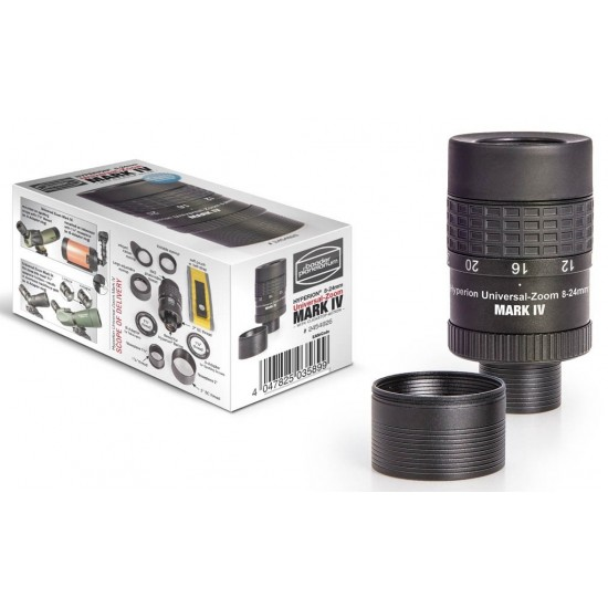 """Baader Hyperion 8-24 mm Universal Zoom Eyepiece 1.25"""" / 2"""" MARK IV"""