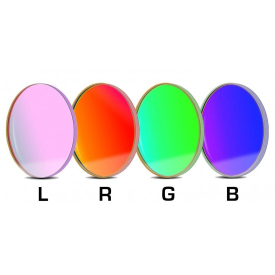 Baader L-RGB CCD 31mm Round Unmounted Filter SET (optically polished)