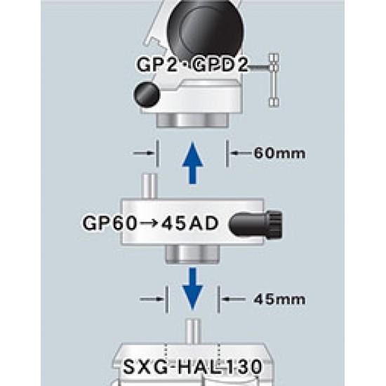 Vixen 25169 GP60 to 45AD - Mount Base to SXG Tripod Adapter