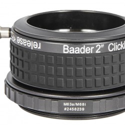 """Baader 2"""" ClickLock® M63a x 1 clamp (for Feathertouch 2.5"""" focusers)"""