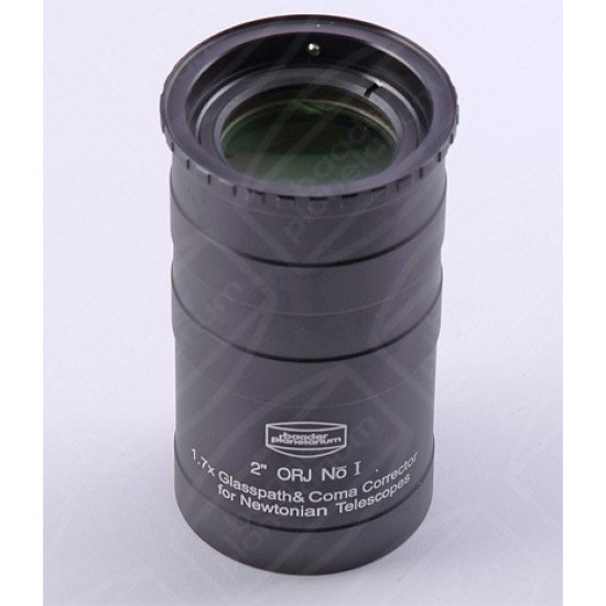 "Baader 2"" Newton Glasspath Corrector with Integrated Coma Corrector 1:1.7 for Mark V & Maxbright Binocular Viewers"
