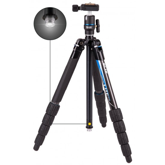 Slik LITE CF-522 Tripod with SBH-180DS Ball & Socket Head - CLEARANCE