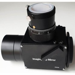 "365Astronomy Imaging Flip Mirror with Non-Rotating Helical Micro Focuser with 2"" Nosepiece"