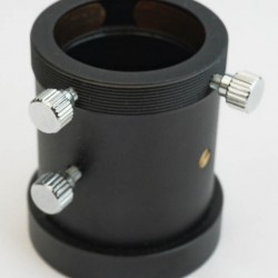 "365Astronomy 1.25"" Non-rotating Pull-Out Fine Focuser with Female T-thread with 10mm Focus Travel"