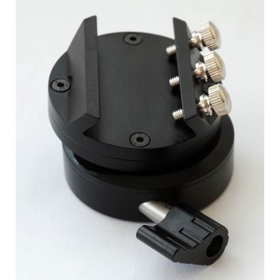 365Astronomy Flexible 3D Semi-Spherical Lightweight Guiding Mount - Finder Base