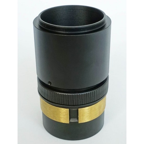 """365Astronomy Self-Centering 2"""" to M48 Adapter - M48 Extension Tube with 2-inch Nosepiece for 2"""" Focusers - 53mm Optical Length"""