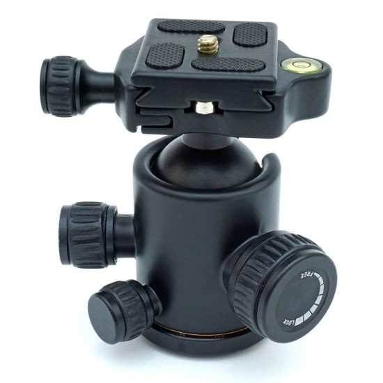 365Astronomy Heavy Duty High Quality Photographic Ball Head with Quick Release Plate