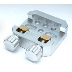 LARGE Universal Mounting Platform / Clamp - Vixen Compatible - ALUMINIUM with BRASS PRESSION BLOCK