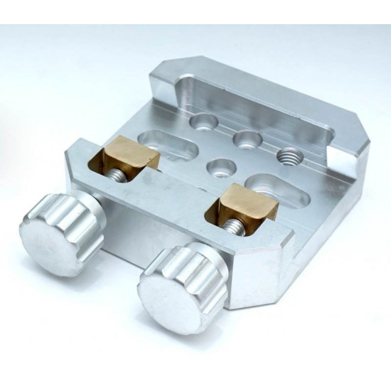 LARGE Universal Mounting Platform / Clamp - Vixen Compatible - ALUMINIUM with BRASS PRESSION BLOCK
