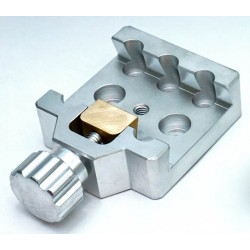 SMALL Universal Mounting Platform / Clamp - Vixen Compatible - ALUMINIUM with BRASS PRESSION BLOCK
