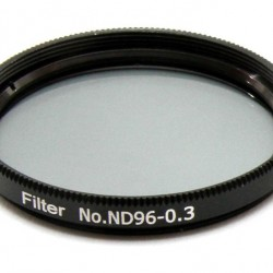 """365Astronomy ND03 Neutral Density Filter with 50% Transmission, 2"""", ND96-0.3"""