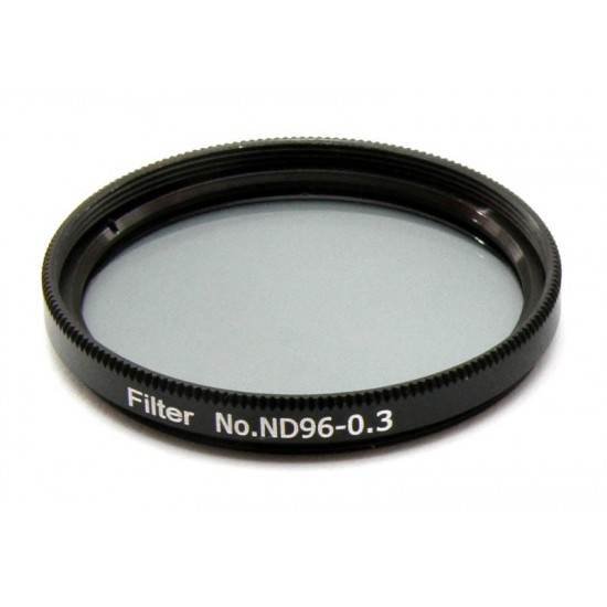 "365Astronomy ND03 Neutral Density Filter with 50% Transmission, 2"", ND96-0.3"