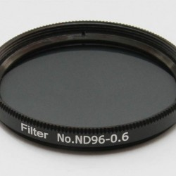 """365Astronomy ND06 Neutral Density Filter with 25% Transmission, 2"""", ND96-0.6"""