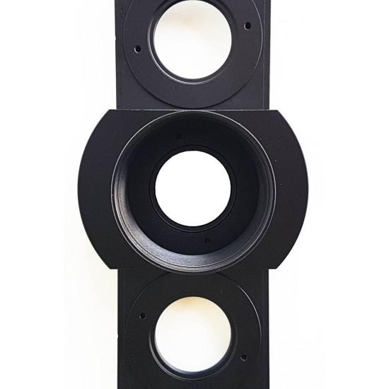 "365Astronomy 6-position Sliding Filter Holder - Filter Slider for 2"" Filters"