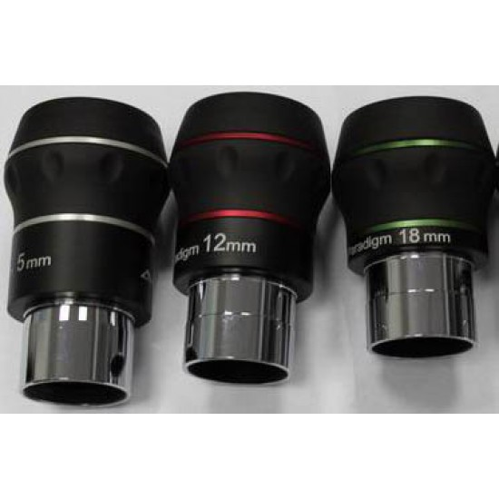 BST Explorer Starguider ED Eyepiece KIT - 5mm, 12mm, and 18mm Eyepieces