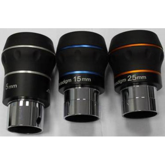 BST Explorer Starguider ED Eyepiece KIT - 5mm, 15mm and 25mm Eyepieces
