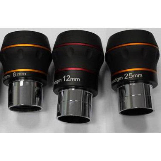 BST Explorer Starguider ED Eyepiece KIT - 8mm, 12mm and 25mm Eyepieces