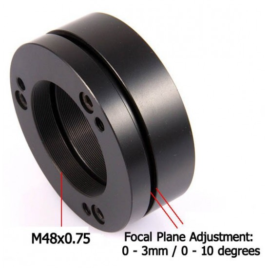 365Astronomy Camera Tilting Unit - CTU M48x0.75 - Focal Plane Adjusting Ring