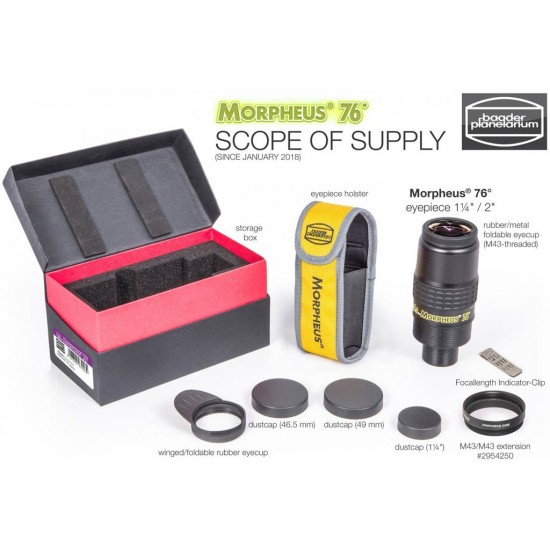 Baader Morpheus 76-degree Widefield Eyepiece 14mm