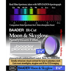 "Baader NEODYMIUM & IR-Cut 1 1/4"" (Moon & Skyglow) Filter"