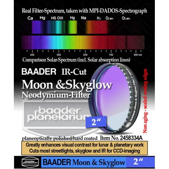 "Baader NEODYMIUM & IR-Cut 2"" (Moon-& Skyglow) Filter"