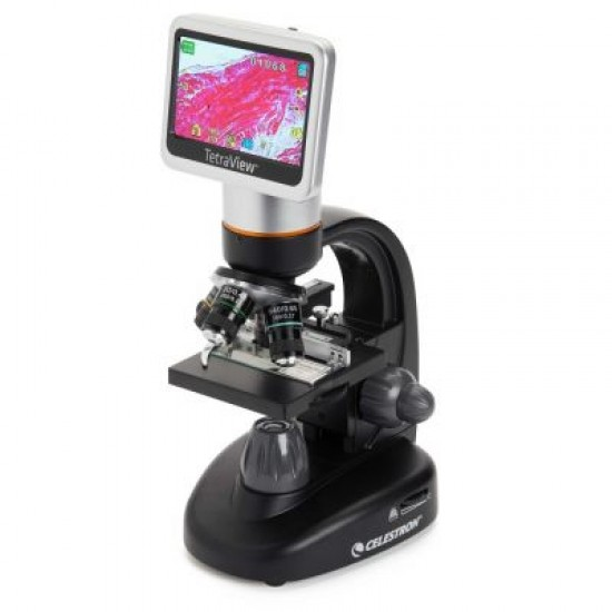 Celestron Tetraview 4.3-inch LCD Touch Screen Digital Microscope with 5MPixel Camera
