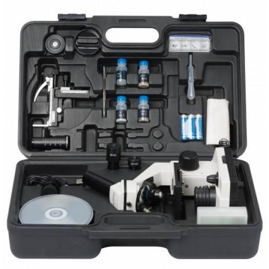Bresser Biolux NV 20x - 1280x Microscope Kit with HD USB Camera