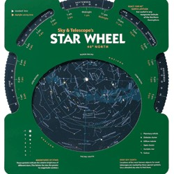 Night Sky Star Wheel 30 degrees North
