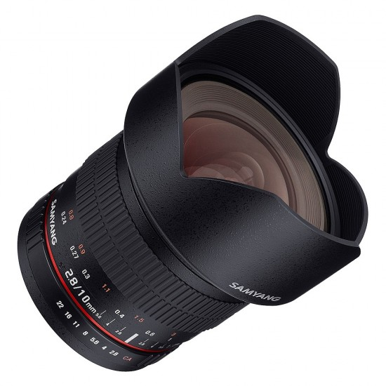 Samyang 10mm F2.8 ED AS NCS CS Lens for CANON EOS ds- CLEARANCE