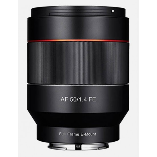 Samyang AF 50mm F1.4 FE Lens for Sony E-Mount- CLEARANCE