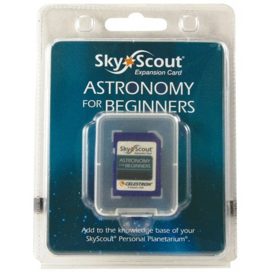 Celestron Astronomy For Beginners - SkyScout Expansion Card
