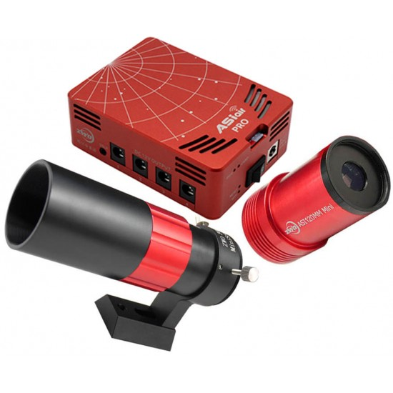 ZWO ASIair PRO Smart WIFI Accessory, ASI120Mini and 30F4 Mini Guidescope BUNDLE - THE PHOTOGRAPHY SHOW OFFER