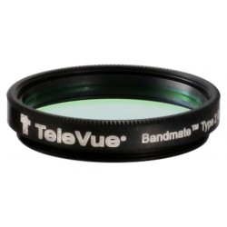 TeleVue Bandmate Type 2 H-beta Premium Visual Nebula Filter 1.25-Inch