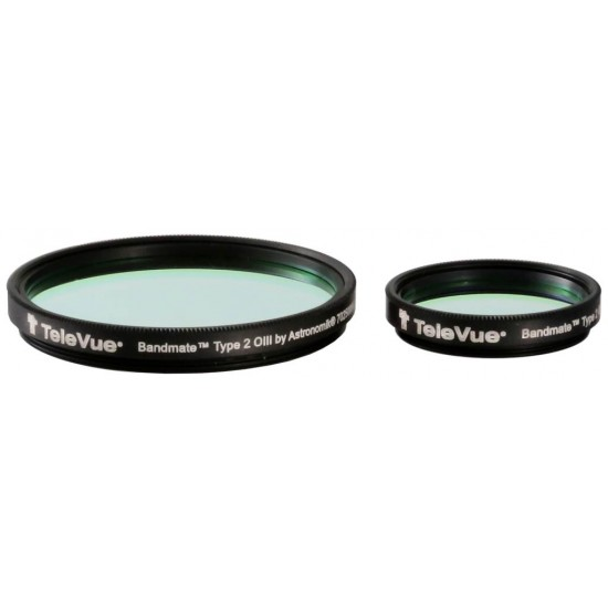 TeleVue Bandmate Type 2 OIII Premium Visual Nebula Filter 2-Inch