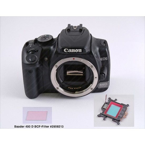 Baader BCF H-alpha Intensifier Filter for Canon 7D/40D/50D/60D/400D/450D/500D/550D/600D/650D/700D/1000D/1100D