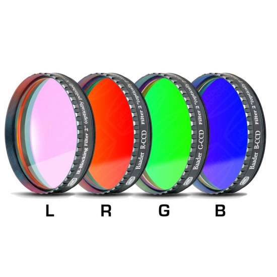 "Baader LRGB-CCD-Filter-Set 2"", RGB +UV/IR Cut/L-Filter"