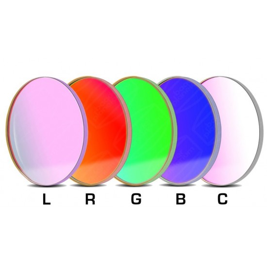 Baader LRGBC-CCD-Filter-Set 50.8mm Round +Clear +UV/IR