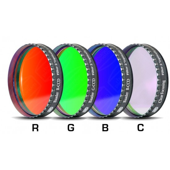 "Baader RGBC-CCD-Filter-Set 2"" RGB +Clear-Glass-Filter"