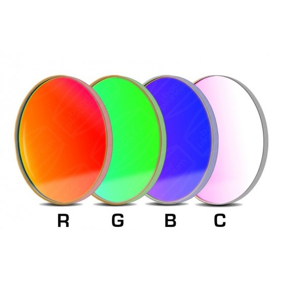 Baader RGBC-CCD-Filter-Set 50.8mm Round RGB +Clear-Glass