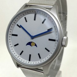 Bauhaus Moon Age Watch - Silver -CLEARANCE
