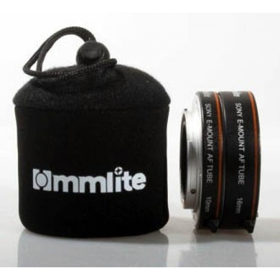 Commlite AF Macro Extension Tube Set Autofocus for SONY Nex E-Mount Camera Lenses - CLEARANCE