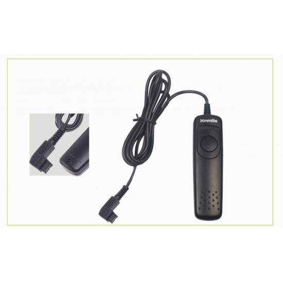 Commlite Wired Remote Control Shutter Release - 1S - for SONY A560, A580, A450, A55, A33, A500, etc.